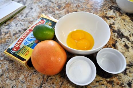 Citrus Curd - Ingredents