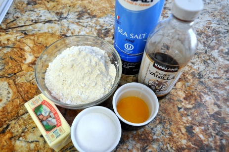 Tart Crust - Ingredients