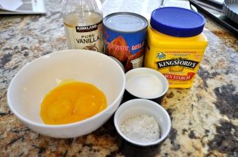 Pastry Cream - Ingredients