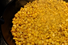 Roasting the Corn