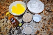 Honey Oat Bread - Ingredients