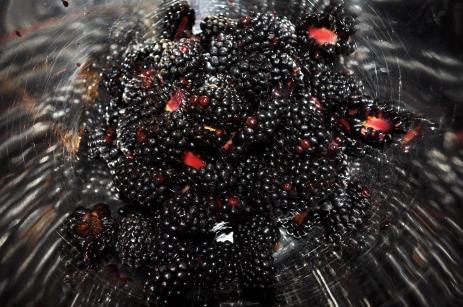 Fresh Blackberries, ready for the pie