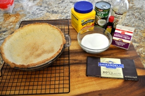 Chocolate Haupia Pie - Ingredients