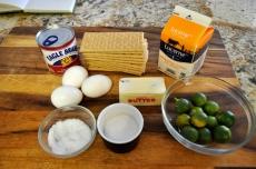 Key Lime Pie - Ingredients