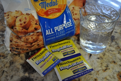 Bread Starter - ingredients
