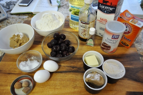 Cherry Muffins - Ingredients