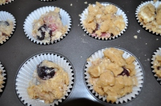 With or without the topping, these muffins are tasty