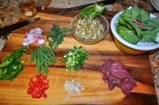 Beef & Bean Sprout Stir Fry - Ingredients