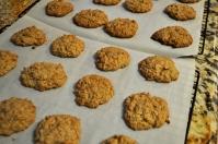 Oatmeal Cookies with Heath Bar & Coconut