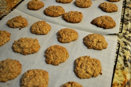 Oatmeal Cookies with Heath Bar & Coconut