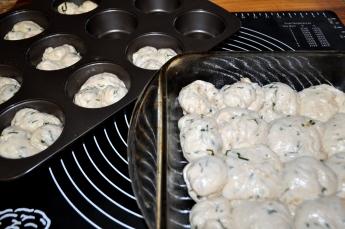 Shape the dough and rise again