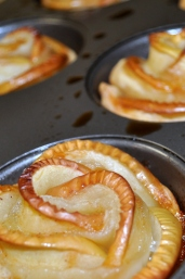 Apple Pastry Rosettes