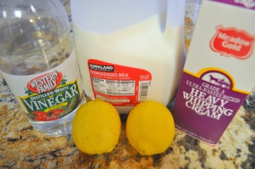 Fresh Ricotta Cheese - Ingredients