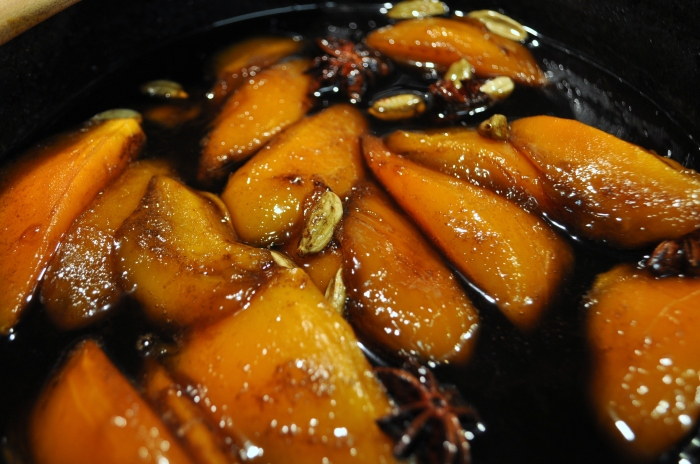 Roasted Mangos