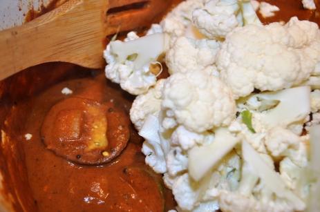 Cauliflower -- yum!