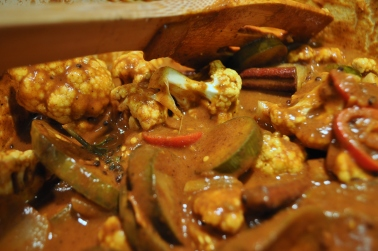 Eggplant & Cauliflower Curry