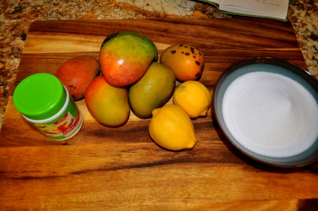 Mango Jam - Ingredients