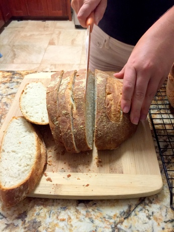 Slicing the final product