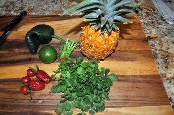 Pineapple Salsa - Ingredients