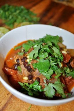 Beef & Bean Chili