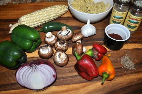 Southwestern Stuffed Peppers - Ingredients