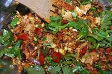 Stir in the cilantro at the last minute