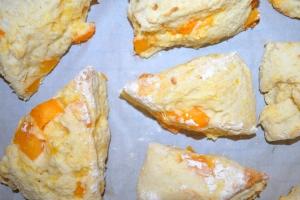 Apricot Greek Yogurt Scones