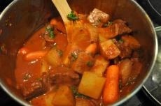 Stir in fresh chopped parsley