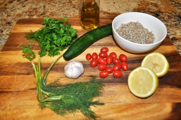 Barley & Herb Salad - Ingredients