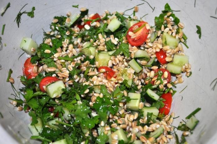 Barley & Herb Salad