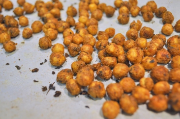 Roasted Chickpeas with Indian Spices