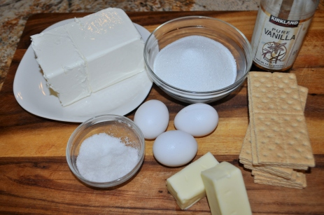 Cheesecake - Ingredients