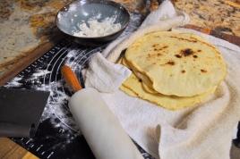 Pita-ish Flat Bread