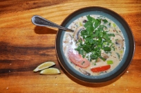 Coconut Lemongrass Chicken Soup