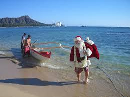 canoe santa