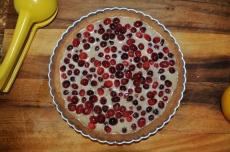 Cranberry Brown Sugar Tart