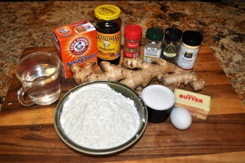Gingerbread - Ingredients