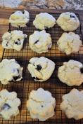 Blueberry Cream Cheese Scones