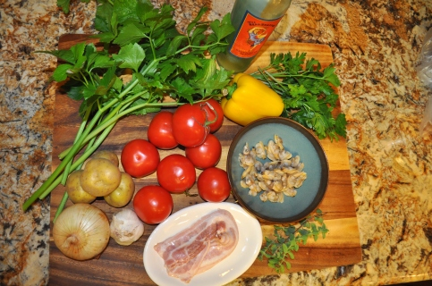 Manhattan Clam Chowder - Ingredients