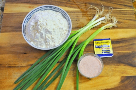 Scallion Flatbread - Ingredients