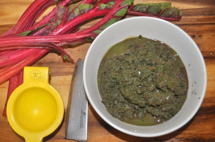 Swiss Chard Pesto