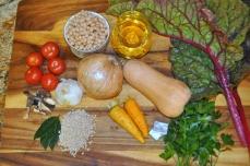 Rustic Butternut Squash Soup - Ingredients