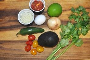 Avocado Baked Eggs - Ingredients