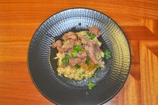 Braised Lamb with Caramelized Shallots
