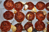 Olive Oil Preserved Roasted Tomatoes and Garlic