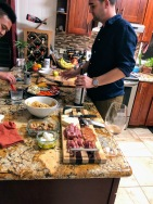 Every great meal starts with charcuterie and wine